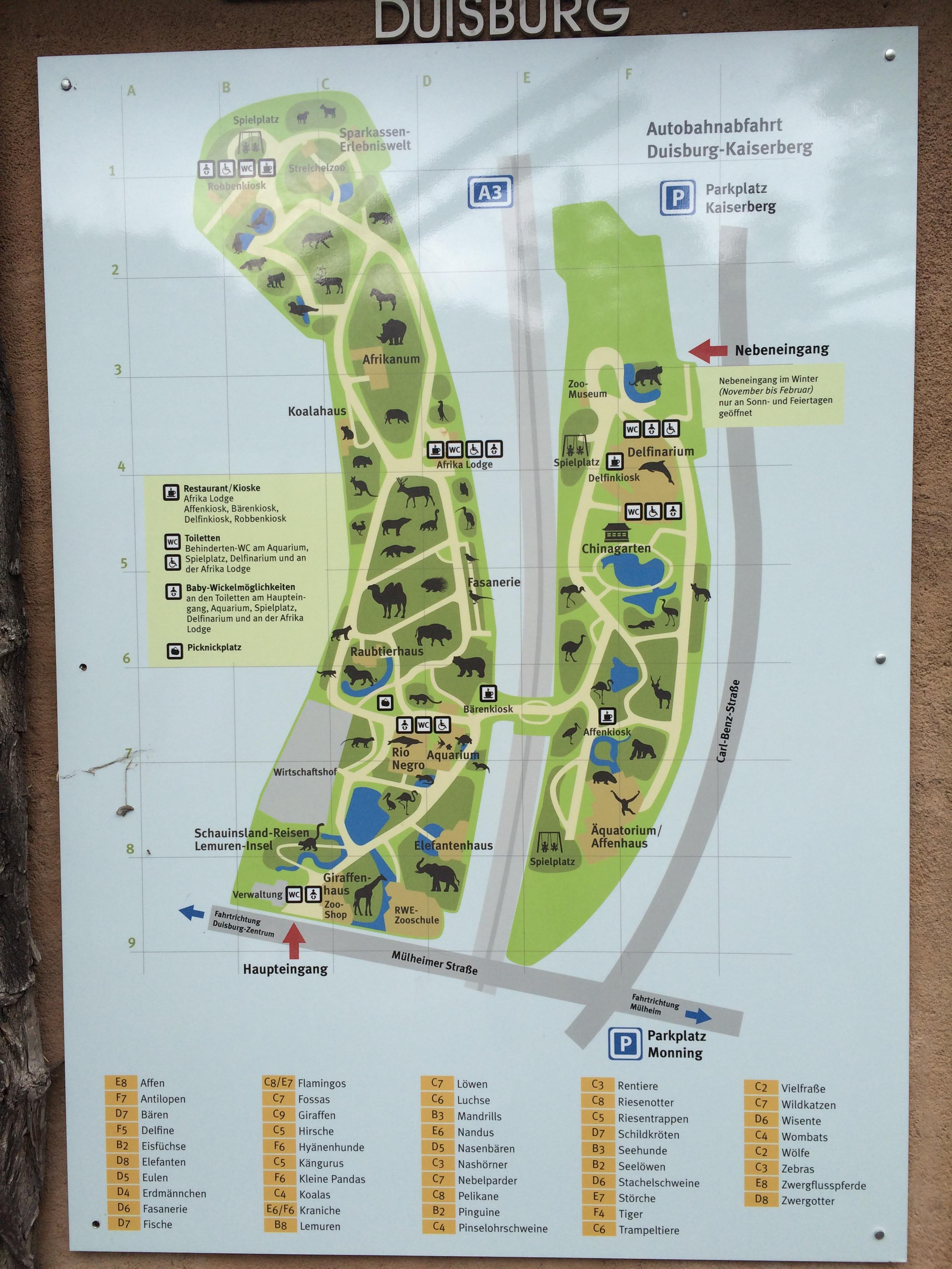 Dagje naar Duisburg Zoo