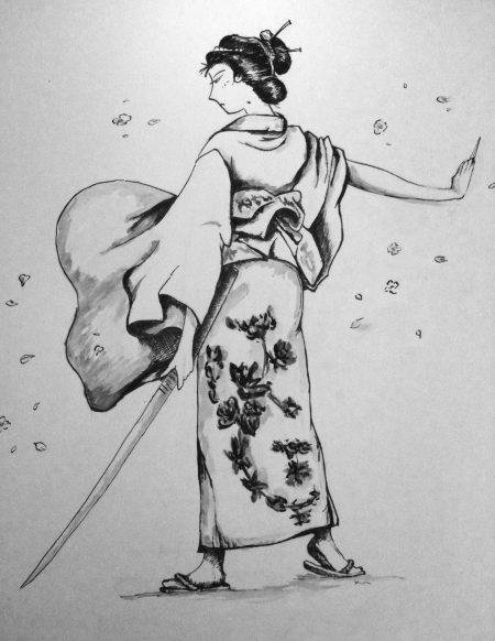 tekening-oosterse-samurai-kim-houben