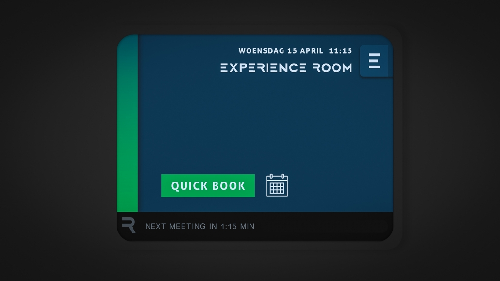 vergaderruimte reserveren app design
